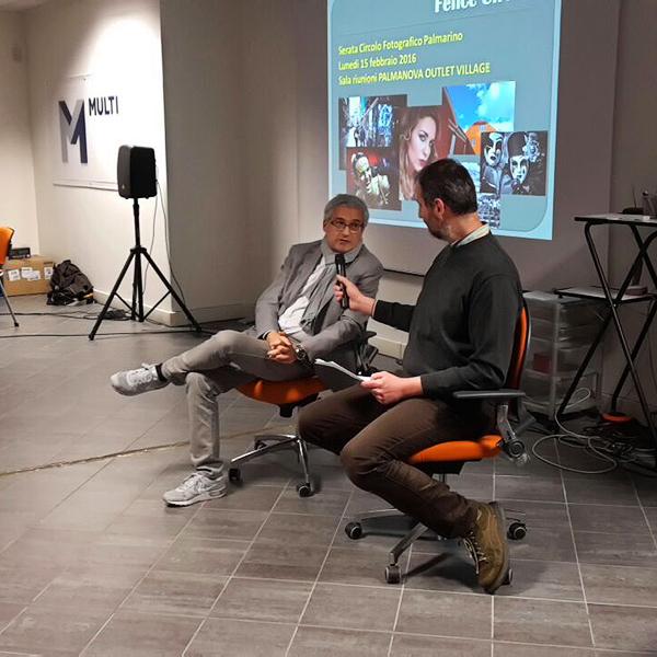 Paolo Vercesi intervista Felice Cirulli - Foto di Marco Marco Manzini