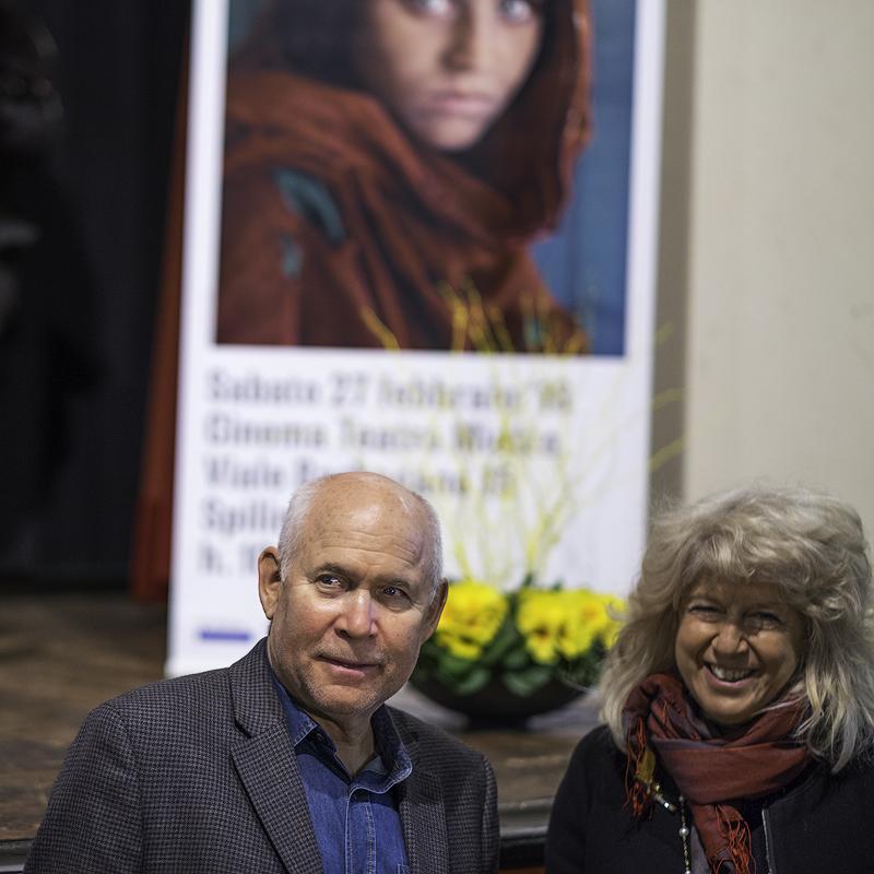Steve McCurry e Biba GiacchettiI