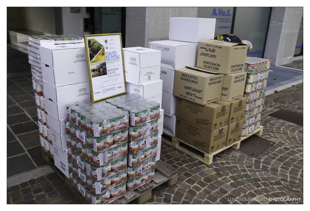 800 Kg di viveri da CFP ad onlus Avos, Cividale del Friuli