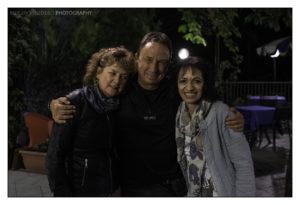 David e Wendy Noton con Rossana