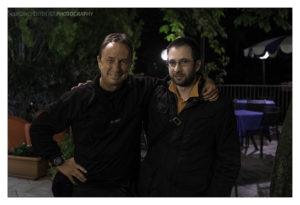 David Noton con Stefano
