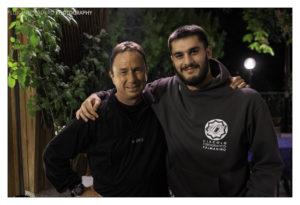 David Noton con Marco