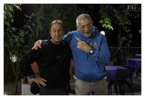 David Noton con Luigino