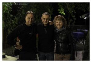 David e Wendy Noton con Andrea