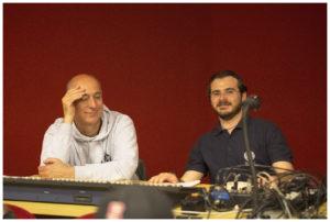 Paolo ed Ema al mixer al Ristori