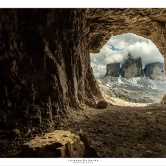 Le tre Cime in grotta