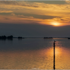 Grado, dal tramonto all'ora blu