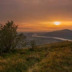 Vista da monte Quarnan