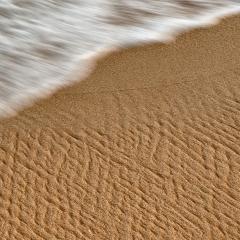 """Spiaggia con """" rughe"""""""