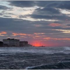 Trieste con bora